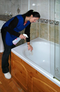 Reliable cleaners to clean your bathroom from SelClene Ayrshire